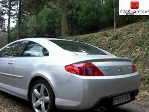 prueba peugeot 407 coupe 3 0 hdi v6 240 cv highmotor youtube. Black Bedroom Furniture Sets. Home Design Ideas