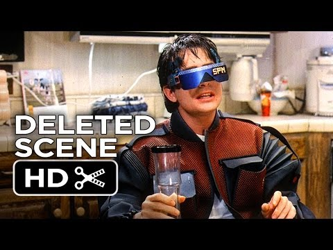 Back To The Future Part II Deleted Scene - Pizza (1985) Movie HD