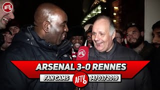 Arsenal 3-0 Rennes | Let's Not Get Carried Away We Have To Take It Game By Game! (Claude)