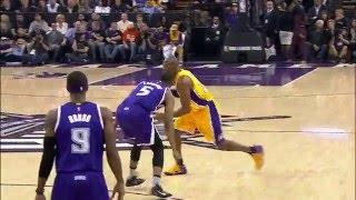 Kobe Bryant Heats Up Against the Kings