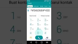 cara lock sinyal 4g how to lock signal 4g