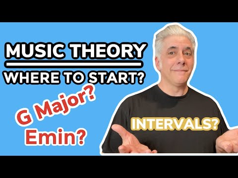 MUSIC THEORY: Where To Start? | Beginners Guide