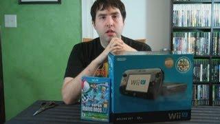 UnBoxing - Nintendo Wii U Black 32 GB Deluxe Edition - Adam Koralik