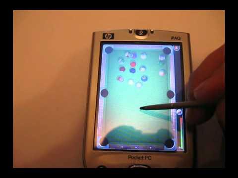 Видеообзор игр для КПК HP iPAQ h4150 1 часть