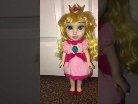 My Custom Toddler Doll: Princess Peach