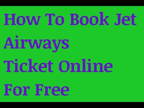 Jet Airways Online Booking Status In Hindi Urdu Youtube