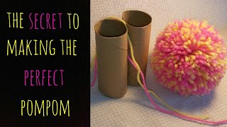 The Secret to Making the Perfect Pom Pom