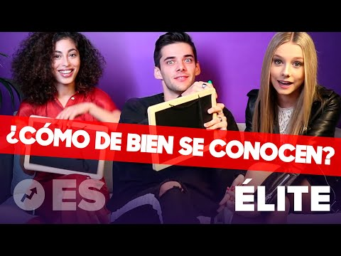 Ponemos a prueba a ESTER EXPÓSITO, ÁLVARO RICO y MINA EL HAMMANI (ÉLITE)