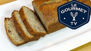 How To Make Banana Bread - Easy Recipe - Best Ever!! - Legourmettv
