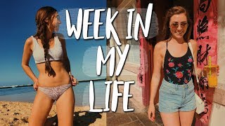 girl talk mukbang | summer week in my life