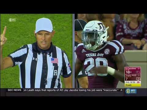 Texas A&M vs South Carolina 2017 - no huddle