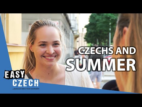 What's Your Favourite Thing about Summer? | Easy Czech 3