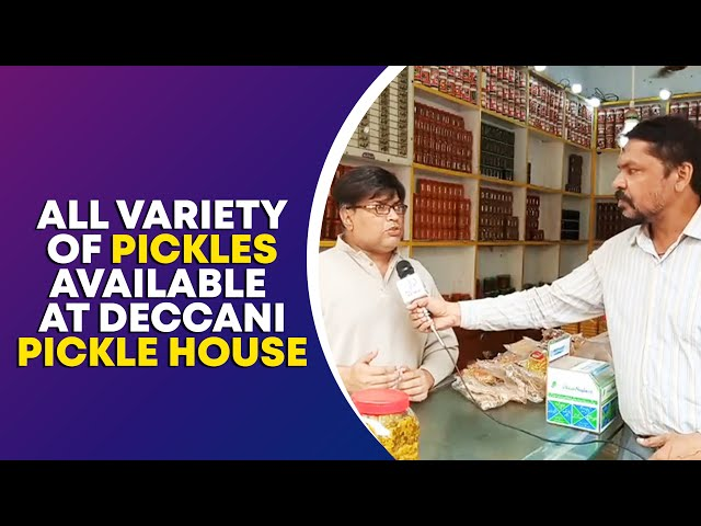 All Variety Of Pickles Available At Deccani Pickle House