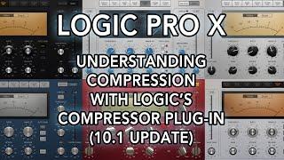 Logic Pro X Understanding Compression with Logic s Compressor Plug-in 10.1 Update.mp3
