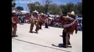 Danza de los Rubios de Juxtlahuaca,en Santa Maria California.