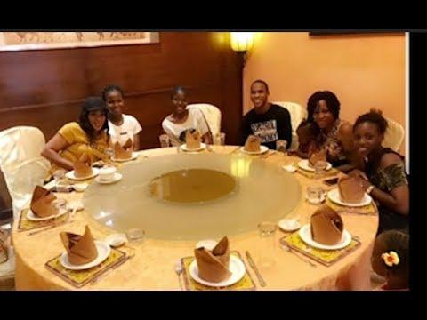 Kemi Afolabi Storms Faithia Balogun's Beautiful Daughter's Birthday As They All Eat and Have Fun