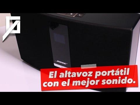 Bose SoundTouch 20: el altavoz portátil con el mejor sonido.