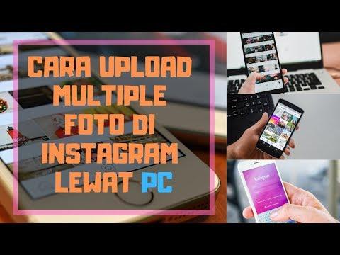 Cara upload foto ig produk, atau video instagram atau ig lewat PC, laptop atau dekstop, sangat cocok.