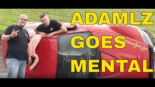 ADAM LZ ROLLED OUR MAZDA RX-8!
