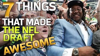 7 Things that Made the 2018 NFL Draft AWESOME | NFL Rush