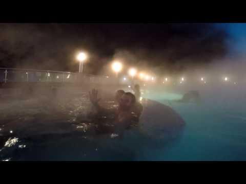 Наш поход в аквапарк и бассейн Газпром Галактика (Сочи, Красная Поляна, Эстосадок) GoPro Quik