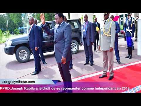 PPRD:Joseph Kabila a le droit de se représenter comme indépendant en 2018
