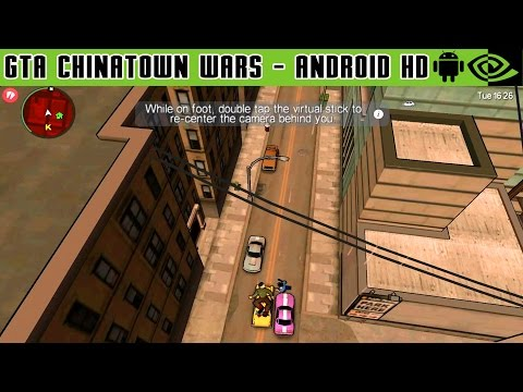 GTA: Chinatown Wars - Gameplay Nvidia Shield Tablet Android 1080p (Android Games HD)