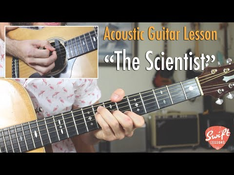 """""""The Scientist"""" Guitar Tutorial- Coldplay"""