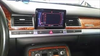 Audi A8 4.2 FSI 2008 - Парктроник и камера заднего вида