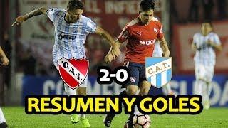Resumen y goles Independiente 2-0 Atlético Tucumán