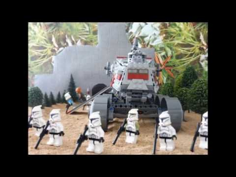Star Wars the Clone War Story Chapter Four (a lego star wars stop motion)