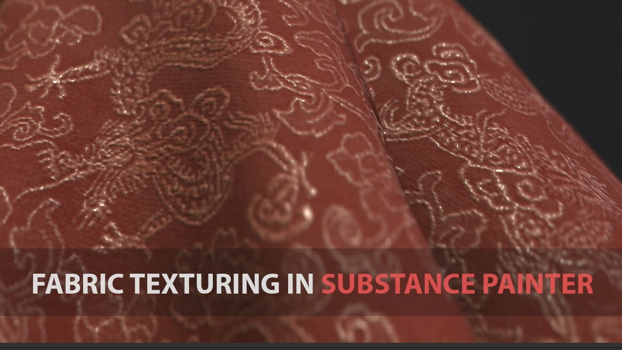 Fabric Texturing in Substance Painter 2 (4K Ultra HD Available)