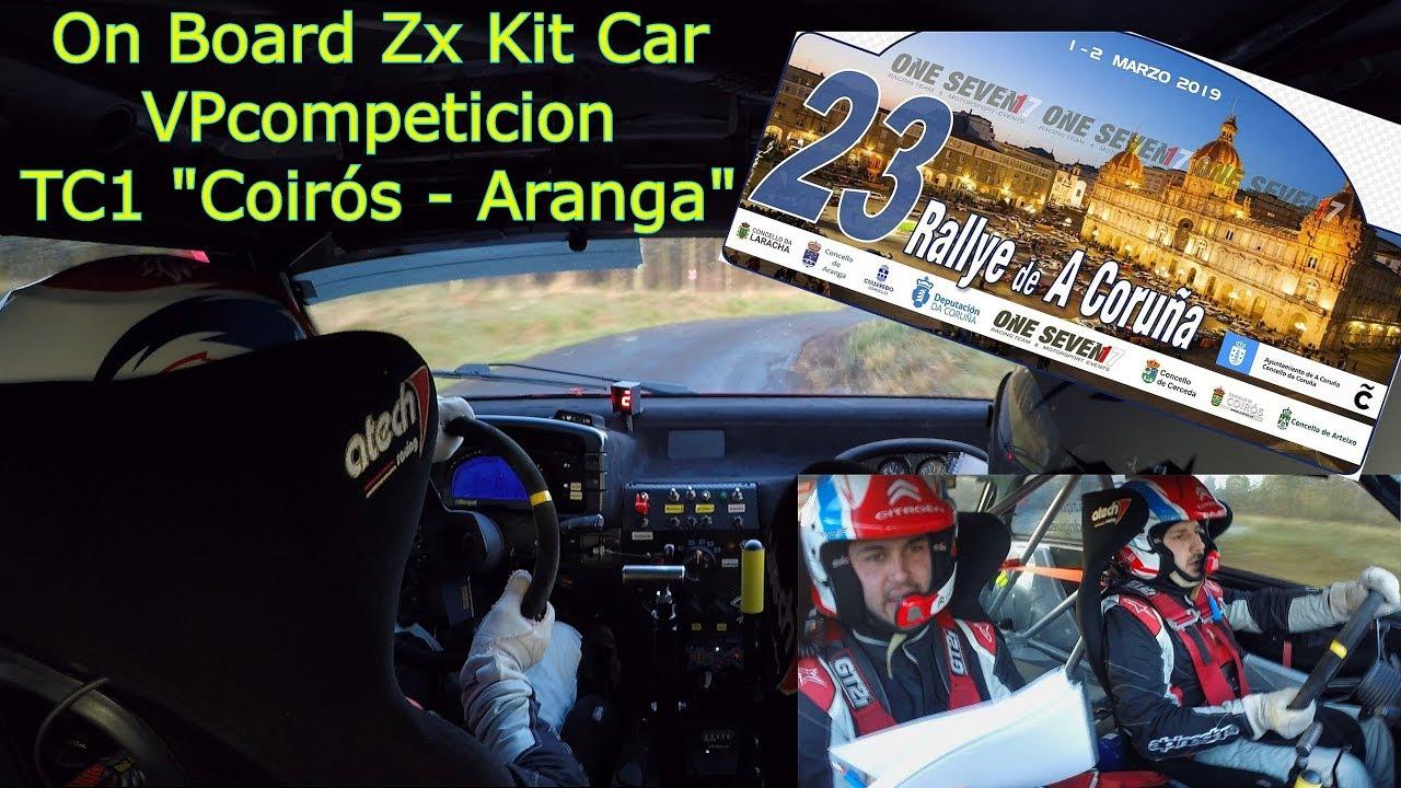 Video Vive Un Tramo Con Emilio Vazquez Y El Citroen Zx Kit Car