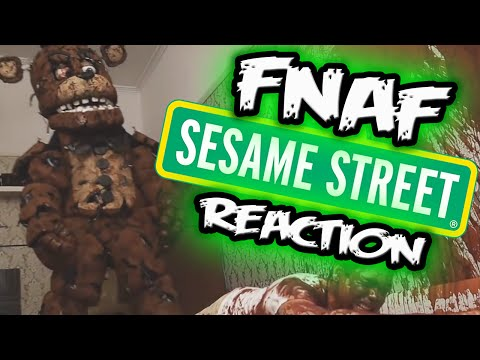 FIVE NIGHTS AT SESAME STREET Reaction | WTF DID I WATCH?! | FNAF Movie Reaction