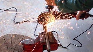 Make a tool rest - part 5 - Cutting