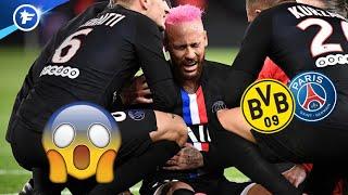 Le PSG s'inquiète pour Neymar avant le match face à Dortmund | Revue de presse