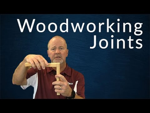 Types Of Woodworking Joints Youtube