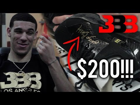 Lonzo Ball CHARGES $200 To Sign HIS SHOES!! TALKS ABOUT NBA DUNK CONTEST!