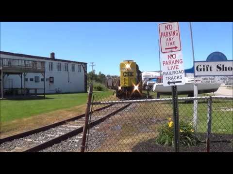 The Chase Is On! Grand River Railway- Grand River, Ohio-Railfanning