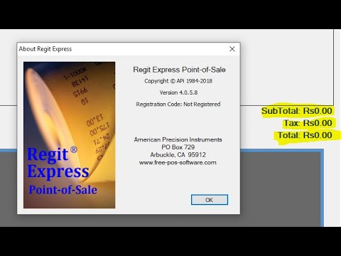 How to Change Currency for Regit Express in Windows