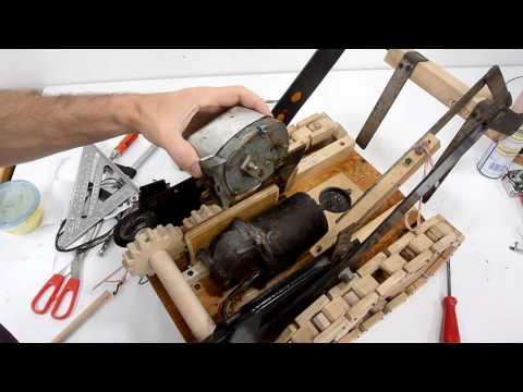 Forklift toy lifting fork