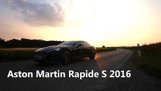DRIVEN!-Speed: Aston Martin Rapide S 2016 Sound