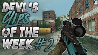 DevL's Clips of the Week #2 (CS-LR4 Trickshot) | Bullet Force Sniper Clips