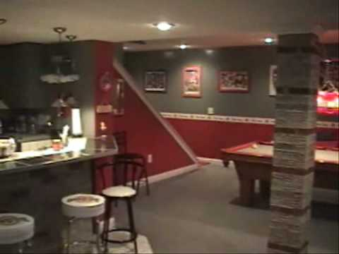 Incroyable Nationu0027s Best Ohio State Buckeye Basement