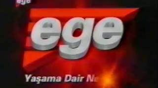 Ege TV (İzmir)Program Tanıtım Ve Reklam Kuşağı 2001 (Nette İlk Kez)