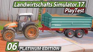 LS17 Platinum PlayTest 🚜 Verkippt noch mal und PP20 ► #6 Landwirtschafts Simulator 17 deutsch