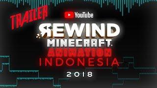 Youtube Rewind Minecraft Animation Indonesia 2018 TRAILER - Faris Sayyaf