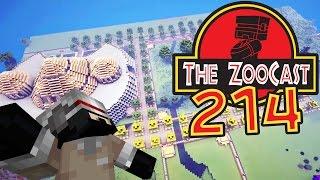Minecraft Jurassic World (Jurassic Park) ZooCast - #214 Jurassicraft Fossil Hunting!
