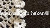 Rand Haken Met Bloemen Crochet Flower Border Youtube