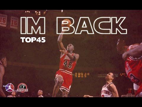 MICHAEL JORDAN TOP45 IM BACK